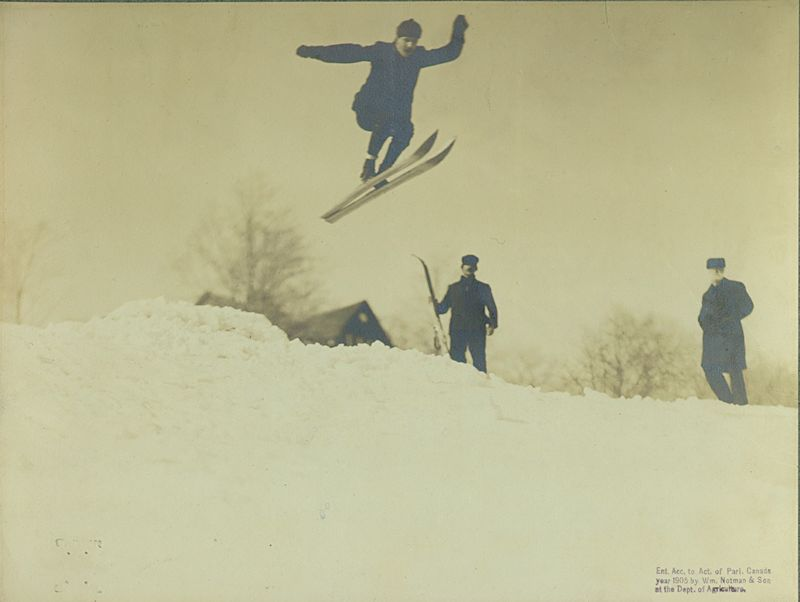 Ski Jump (Notman and Son)
