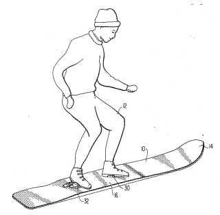Steve van Dulken's Patent blog: Snowboarding inventions