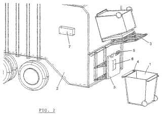 Weighing rubbish patent