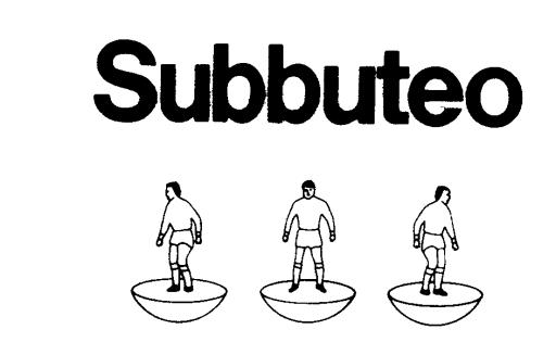 Subbuteo British trade mark 1560886