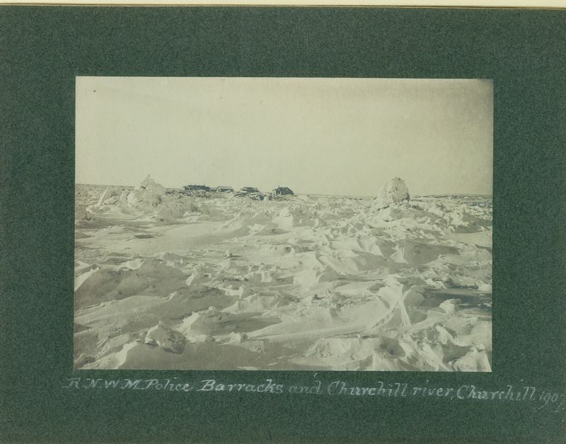 Arctic State Craft (G Moodie photographs Churchill battacks)