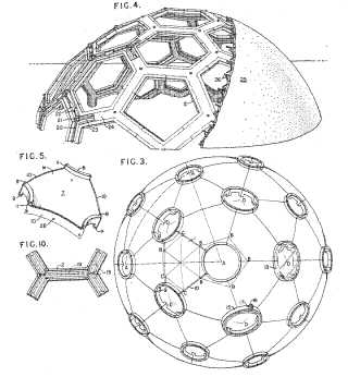 Geodesic structures patent drawings