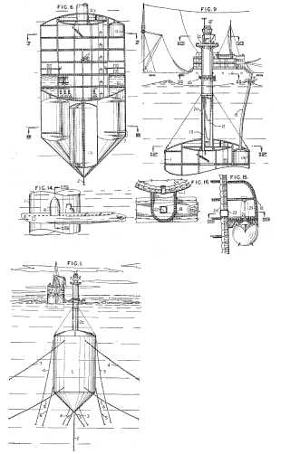 Anchoring system for an undersea island patent drawings