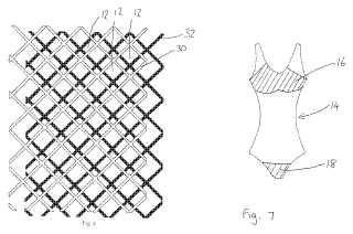 Tan through material patent drawings
