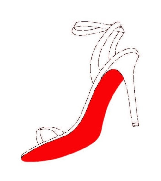 Louboutin red outsole trade mark