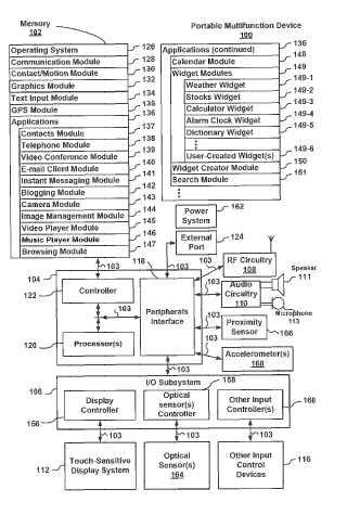 I-phone patent drawing image