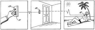 Doorbell ringing a mobile phone patent drawing