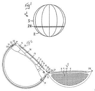 LoJo collapsible seat patent drawing