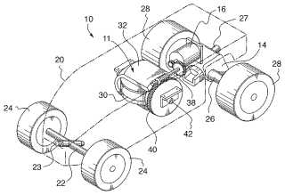 Gyroscopic steering patent image by Big Monster Toys