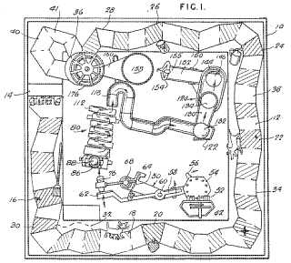 Mousetrap board game patent image