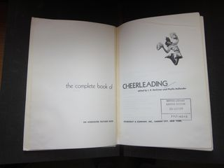 Complete book of cheerleading