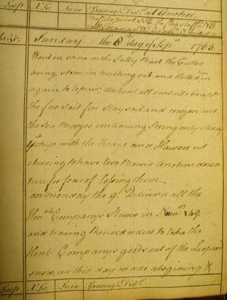 Royal George slaves