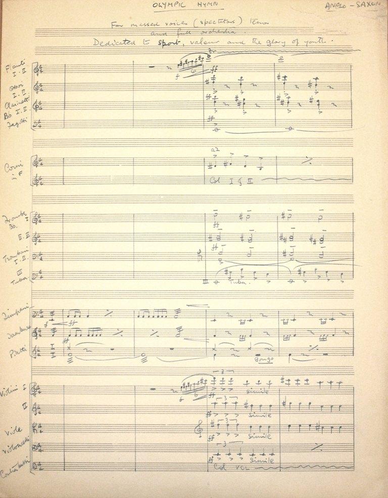Olympic Hymn - James Stevens