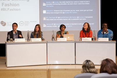 Forward-thinking Fashion panel of speakers at the British Library