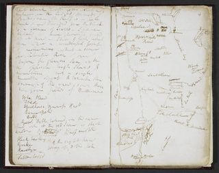 Samuel Taylor Coleridge, 'Lakes' Notebook