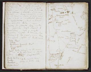 Samuel Taylor Coleridge, 'Lakes' Notebook
