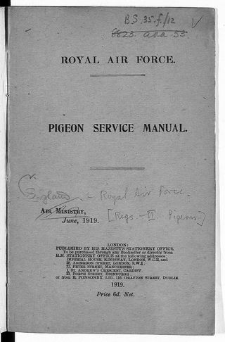 Pigeon manual cover