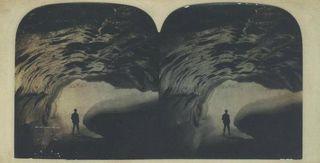 Illecillewaet Glacier Ice Cave