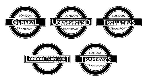 1934 London transport trade mark