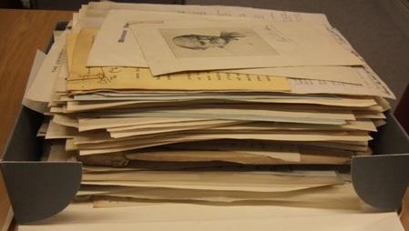 Box of correspondence