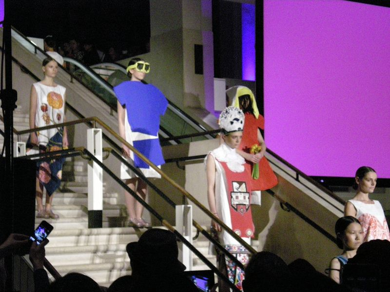 Fashion show at British Library