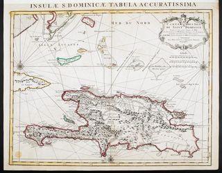 Carte de Saint Domingue