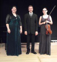 Natalie Hyde, Robert Markham, and Dominika Fehér