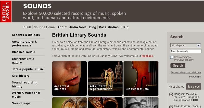 BL Sounds website