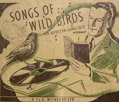 'Songs of wildbirds' record cover
