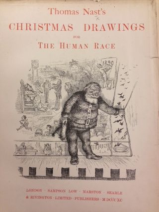 Thomas Nast Christmas Drawings 12330m12