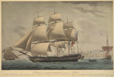 East India ship 065138