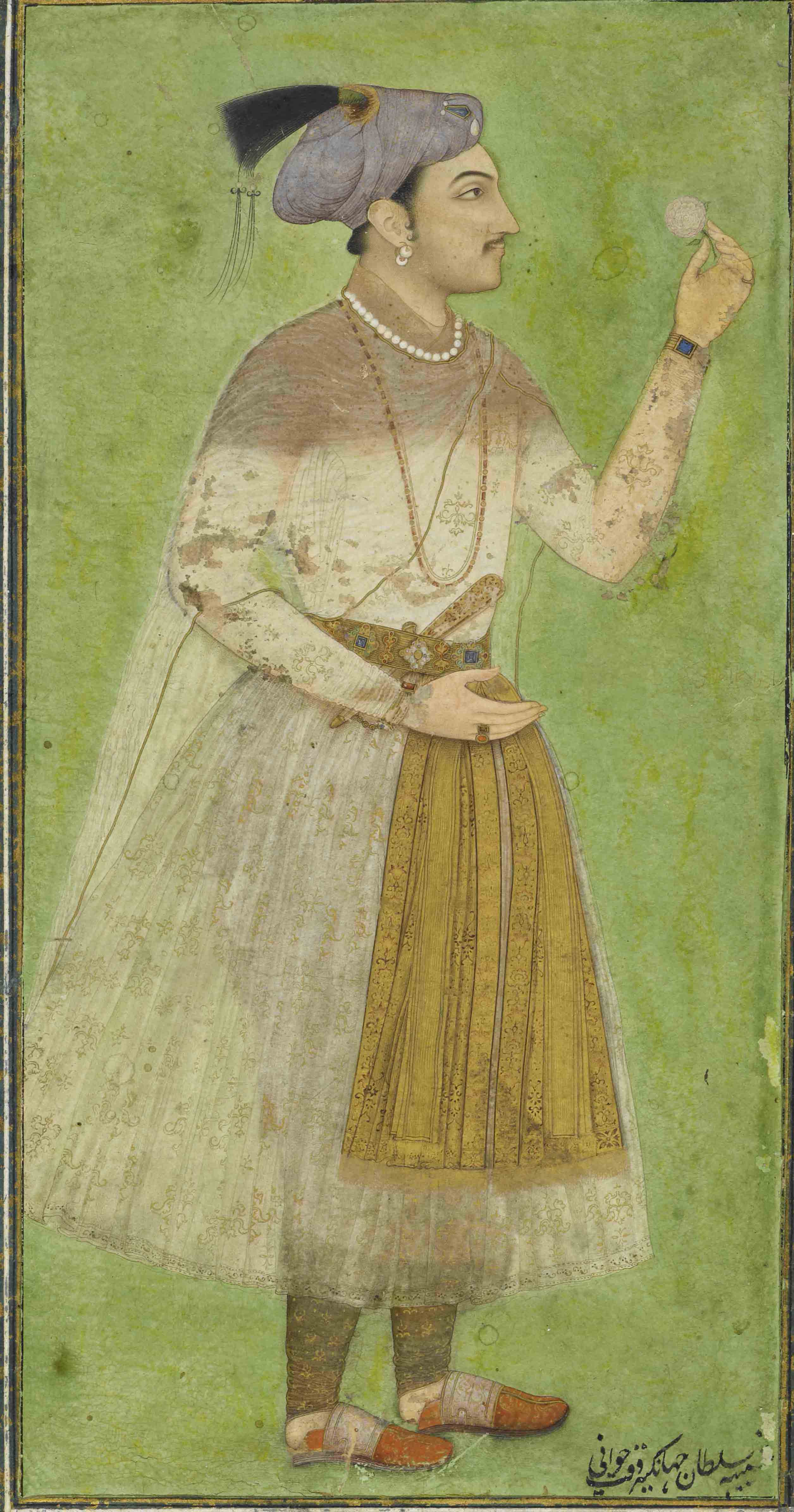 The mughals 1 vintage indian clothing pic 2 portrait of prince salim 1620 30 the 17th century mughal costume sciox Choice Image