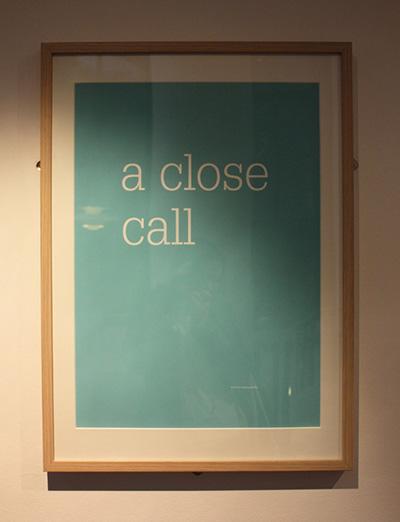 A close call
