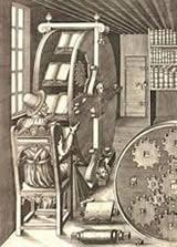 Design for a revolving reading desk