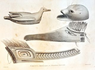 Various Articles at Nootka Sound