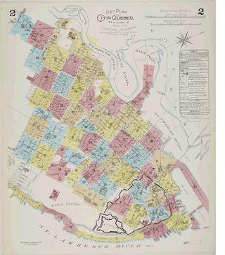 Goad plan Quebec (sheet 2)