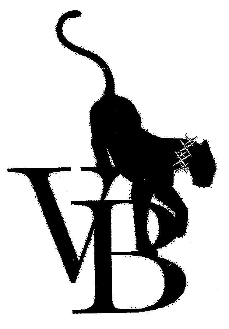 VB and cat trade mark logo
