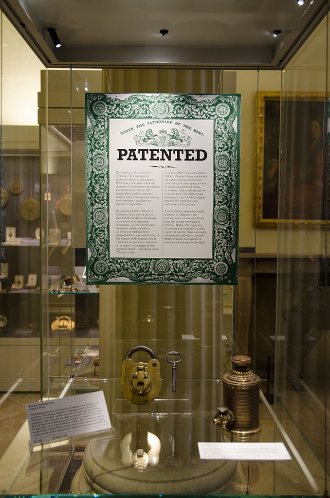 Patented ! exhibition image