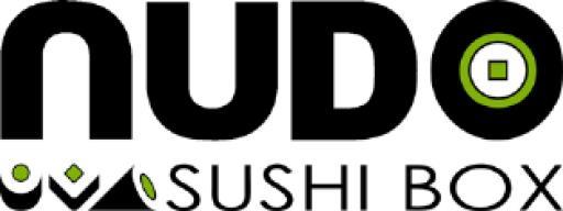 Nudo sushi box trade mark logo