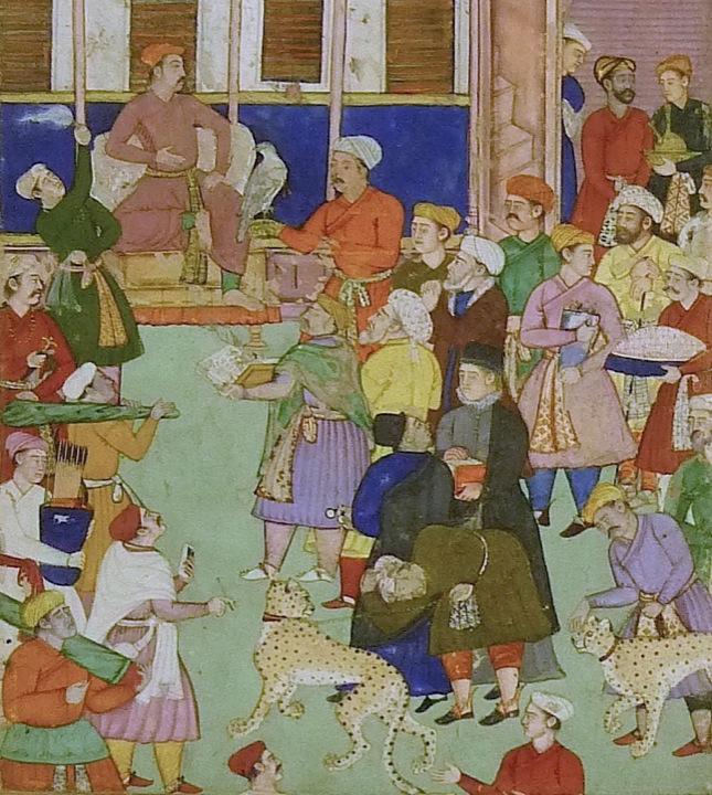 christian art mughal