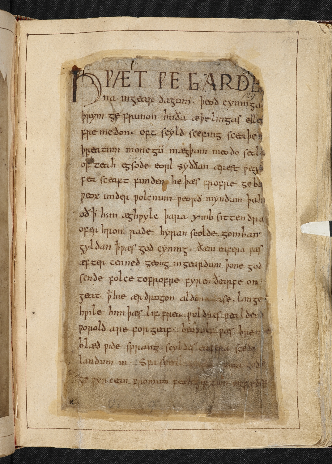 an analysis of the mythic elements in the epic poem beowulf