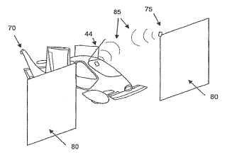 Terrafugia road using aircraft patent image