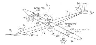 Nuclear powered drone patent