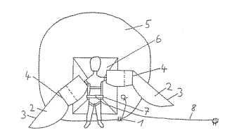 Human powered flight device patent