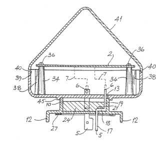 Photoelectric control unit for street lighting patent