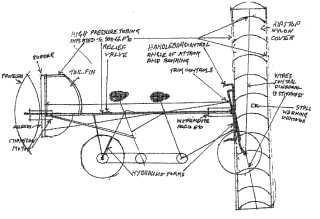 Pedal powered vehicle with flying capability