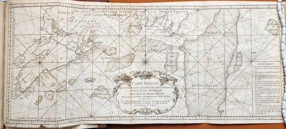 Acadie Chart (J Chabert)