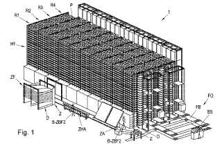 Warehouse robot picking patent image