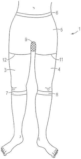 Sara Blakely pantyhose patent image