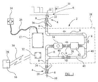 Fluid leak prevention patent drawing
